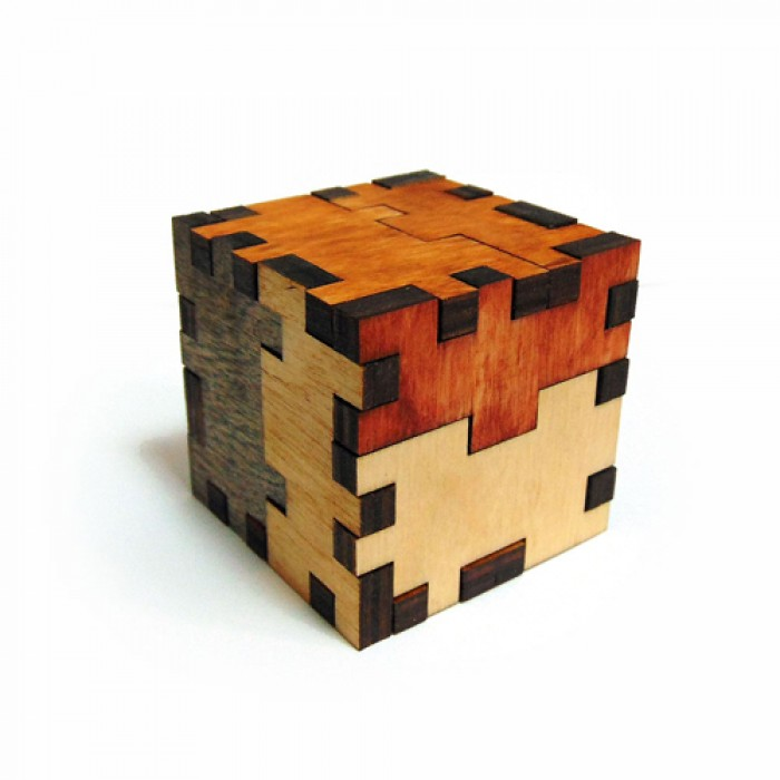 Деревянная головоломка Куб-мучитель