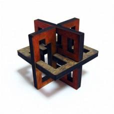Деревянная головоломка Lattice 3