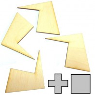 Набор из 10 мини головоломок