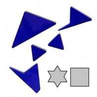 Набір з 10 міні акрилових головоломок