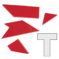 Набор из 10 мини акриловых головоломок