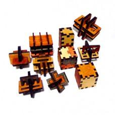 Набір з 10 3D-головоломок