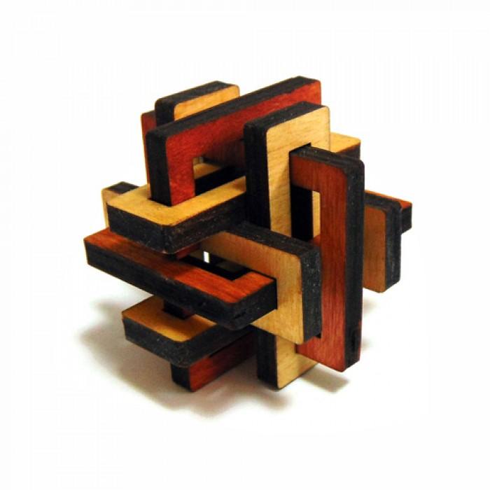 Деревянная головоломка Тиара