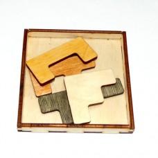 Деревянная головоломка Факт