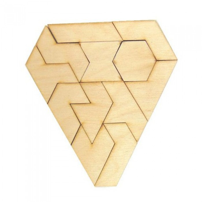 Дерев'яна головоломка Гексатріон