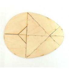 Деревянная головоломка Колумбово яйцо