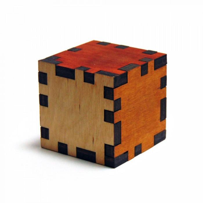 Дерев'яна головоломка Куб 8х8