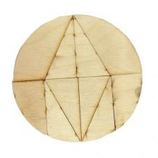Деревянная головоломка Магический круг