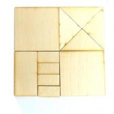 Дерев'яна головоломка Монгольська гра