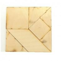 Деревянная головоломка Игра Пифагора