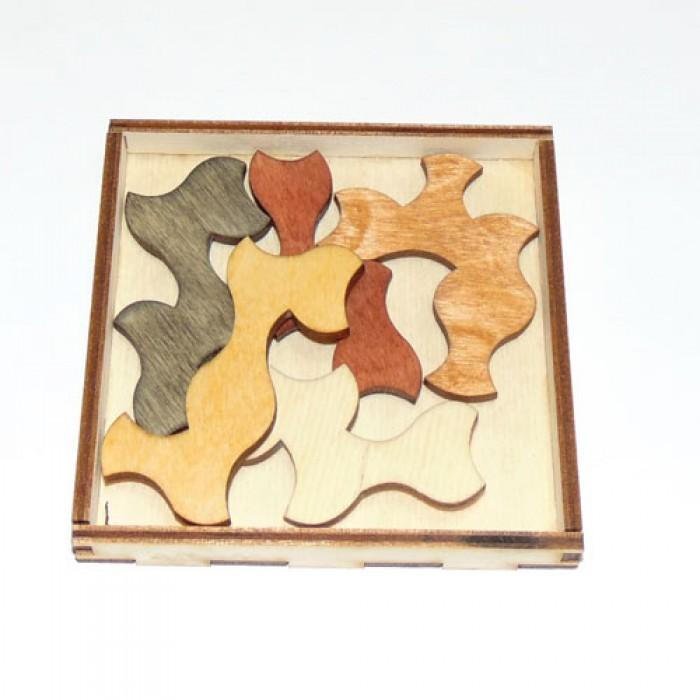 Деревянная головоломка Призраки