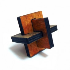 Дерев'яна головоломка Вузлик
