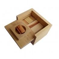 Дерев'яна головоломка Скриня