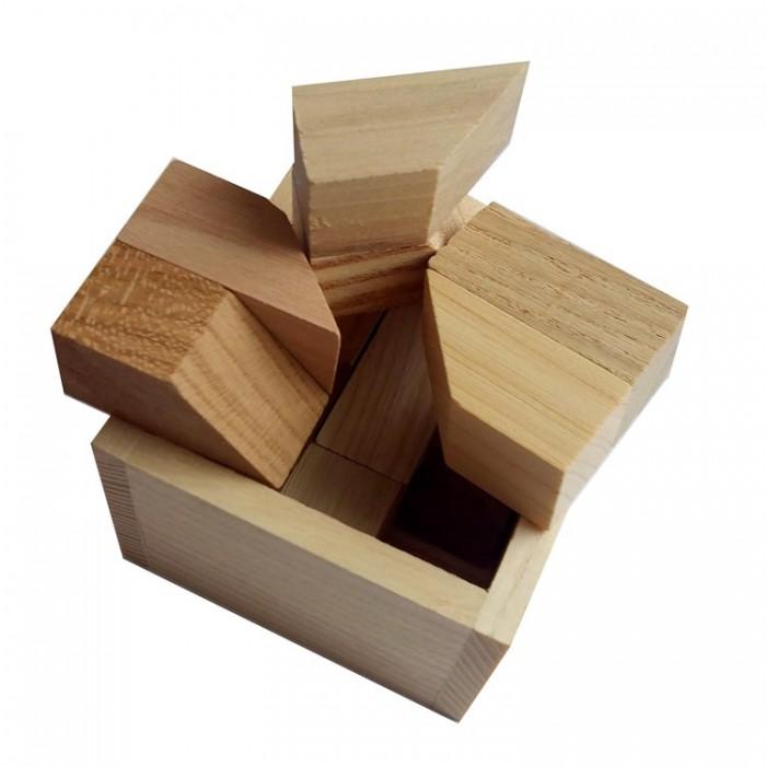 Деревянная головоломка Чикаго малая Круть Верть