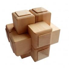 Дерев'яна головоломка Хрест Макарова