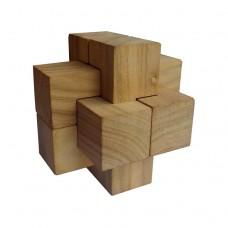 Деревянная головоломка Крест Дюбуа