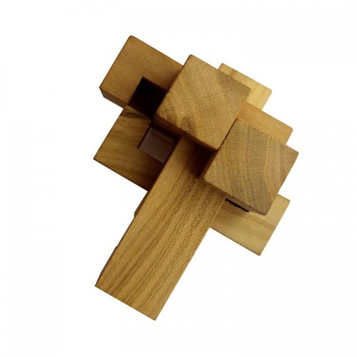 Деревянная головоломка Крест Дюбуа Круть Верть