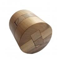 Деревянная головоломка Цилиндр Круть Верть