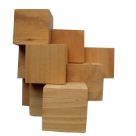 Деревянная головоломка Пирамида KMBS