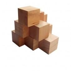 Деревянная головоломка Пирамида KMBS Круть Верть