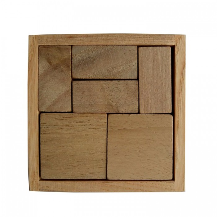 Дерев'яна головоломка Гала куб