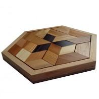 Деревянная головоломка Митcубиси (Mitsubishi) Круть Верть
