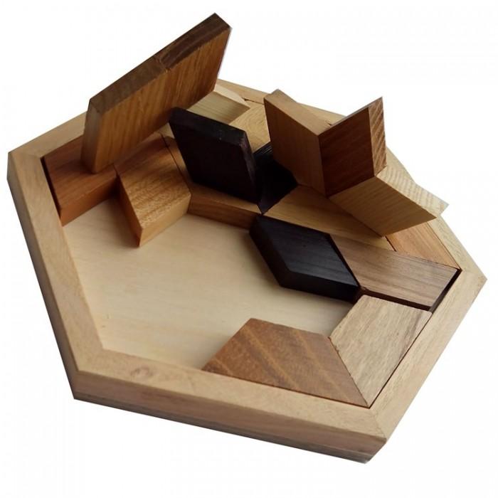 Дерев'яна головоломка Мітсубісі (Mitsubishi)