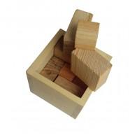 Деревянная головоломка Упаковка №1