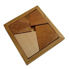 Деревянная головоломка Укладка №4 Круть Верть