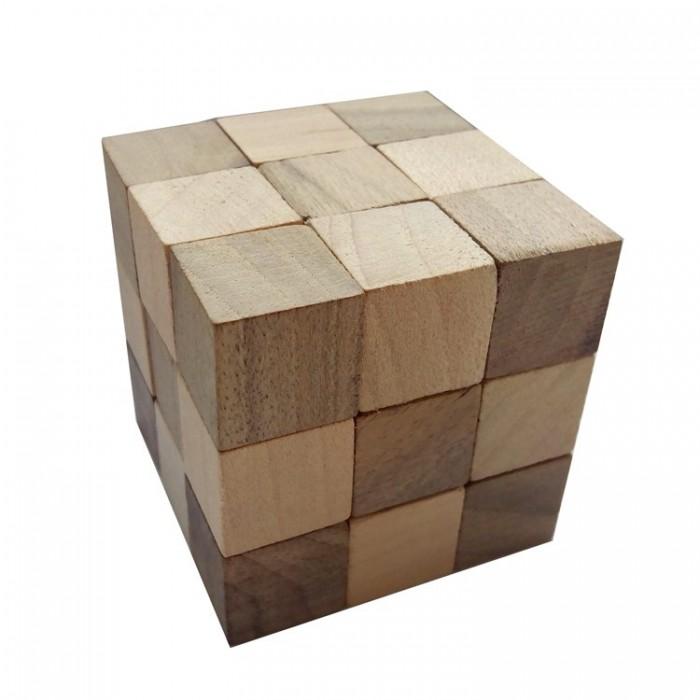 Деревянная головоломка Куб 60*60 Круть Верть