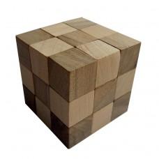 Дерев'яна головоломка Куб 60*60