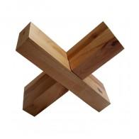 Деревянная головоломка Крест Вертушка