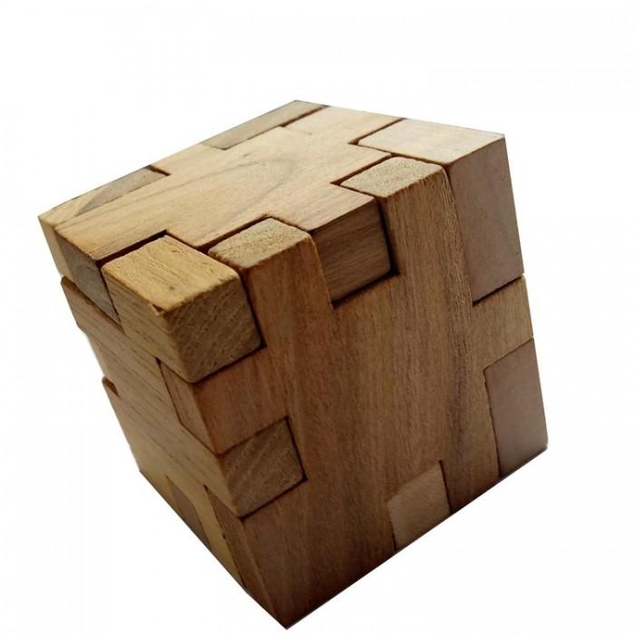 Деревянная головоломка Куб Пентамино