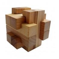 Деревянная головоломка Погремушка