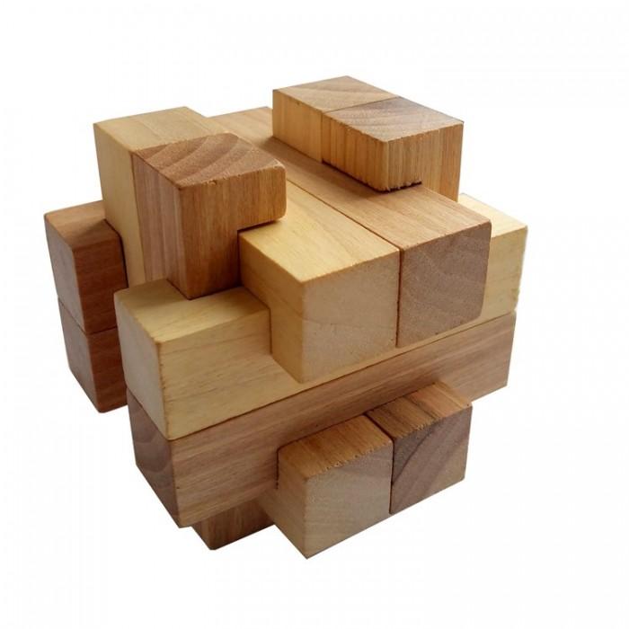 Деревянная головоломка Погремушка Круть Верть