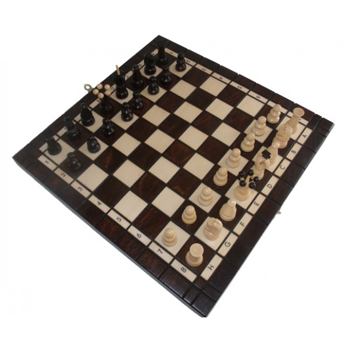 Комплект шахматы и шашки малые с-165а