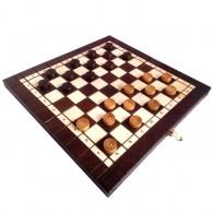 Набор шахматы и шашки малые с-165с Madon