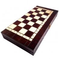 Набор шахматы и шашки малые с-165с