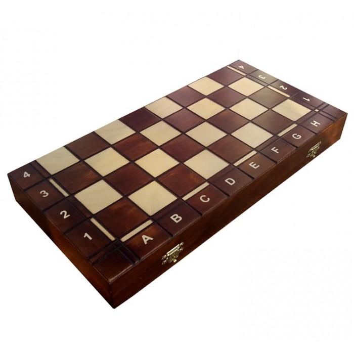 Комплект нарди + шахи + шашки №4