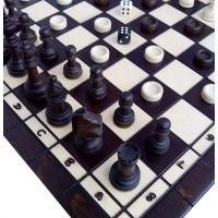 Комплект шахи + нарди + шашки (Madon) с-141