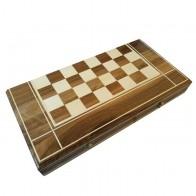 Комплект 3 в 1 50х50 см N2 (шахи, шашки та нарди) Інкрустований. Ручна робота.