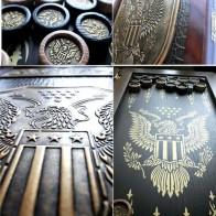 Нарды Американский орел золотой