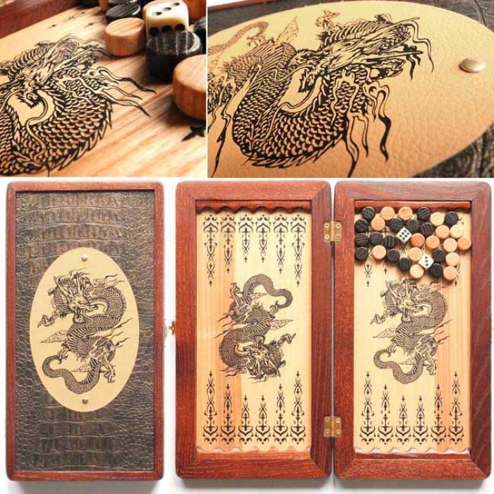 Нарди малі Китайский Дракон