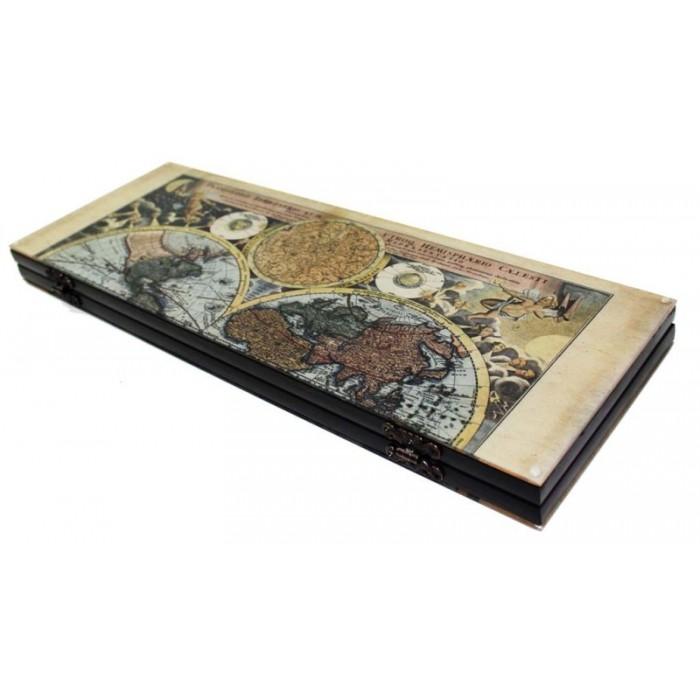 Нарди подарункові Старовинна карта