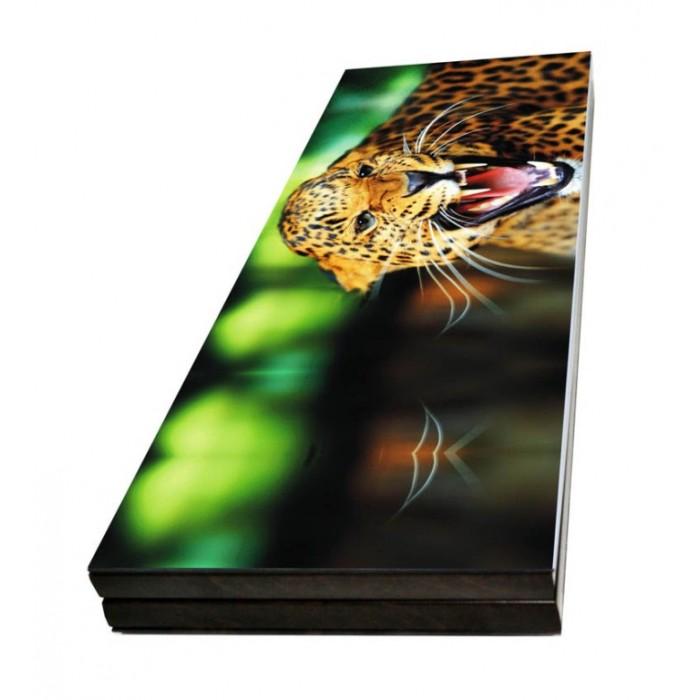 Нарды подарочные Леопард