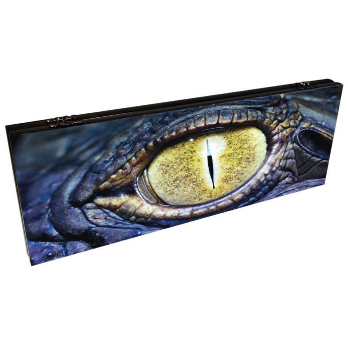 Нарды подарочные Глаз рептилии
