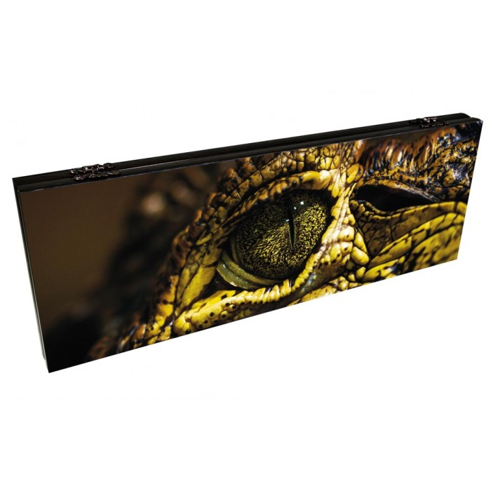 Нарды подарочные Глаз аллигатора