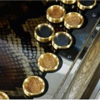 Нарды эксклюзивные металлические Змея - Омега
