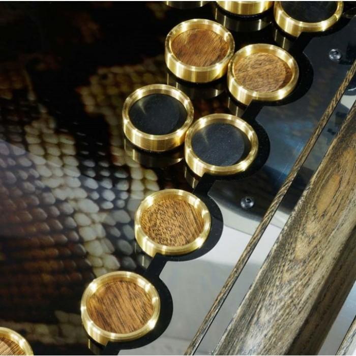 Нарди ексклюзивні металеві Змія - Омега