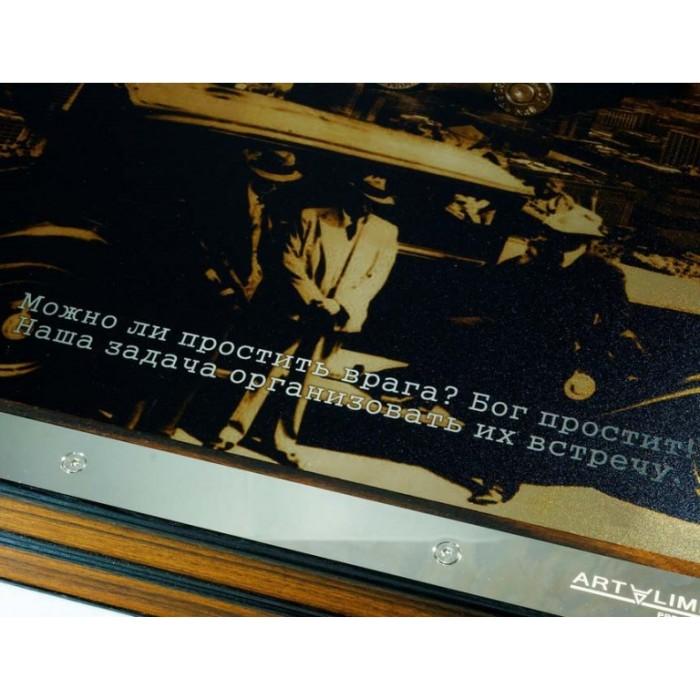 Нарди подарункові металеві Аль Капоне (Al Capone)